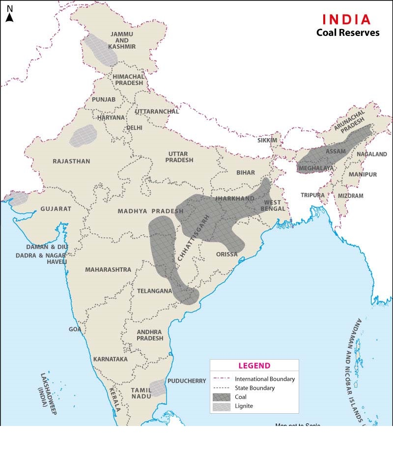 INDIAN MINES AND MINERAL WEALTH - Geography - UPSCFEVER