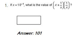 GRE Quant questions